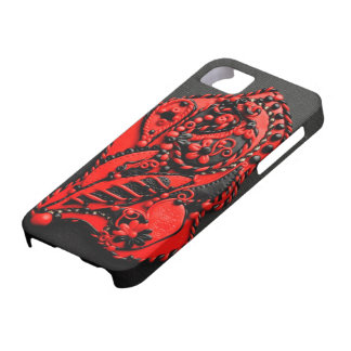 Paisley Bas-relief iPhone 5 case