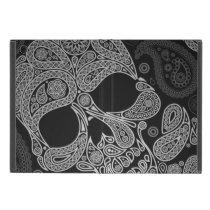 Paisley  Black & White Skull Cover For iPad Mini