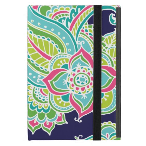 Paisley bohemia colorida iPad mini carcasas