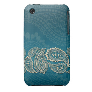 Paisley Border Barely There 3G/3GS Case iPhone 3 Case