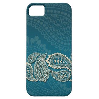 Paisley Border iPhone SE/5/5s Case
