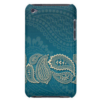 Paisley Border iPod Touch 4 iPod Case-Mate Case