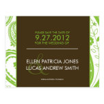 Paisley Border - Save The Date Postcards