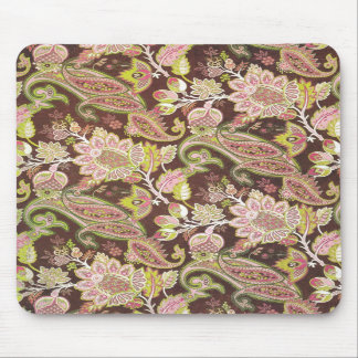 paisley brown mouse pads