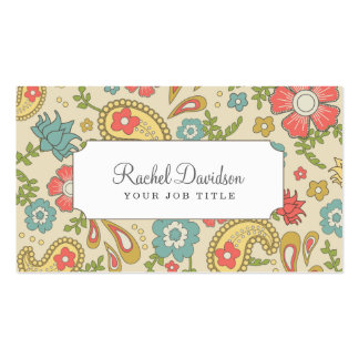 Paisley Business Cards