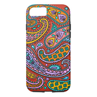 Paisley Candy iPhone 7 Tough Case