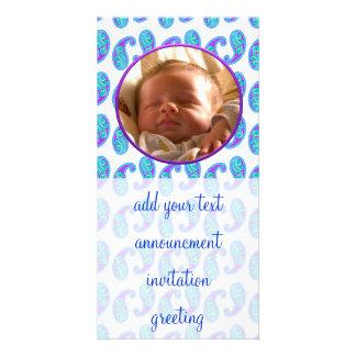Paisley Card