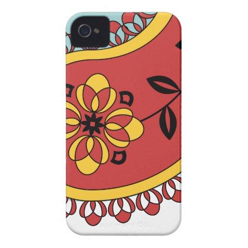 Paisley Case-Mate iPhone 4 Cobertura