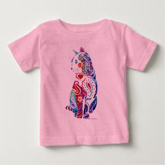 Paisley Cat Designs Baby T-Shirt