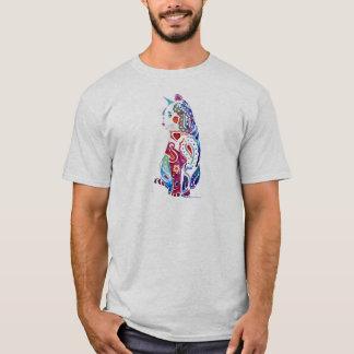 Paisley Cat Designs T-Shirt