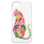 Paisley Cat iPhone Cases iPhone 5 Covers