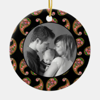 Paisley Ceramic Ornament