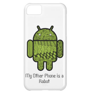 Paisley Character for Android™ Robot Case For iPhone 5C