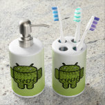 Paisley Character for the Android™ Robot Bath Set