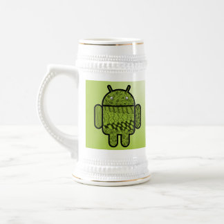 Paisley Character for the Android™ Robot Beer Stein