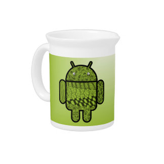 Paisley Character for the Android™ Robot Beverage Pitcher