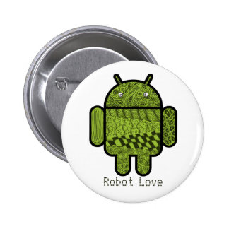Paisley Character for the Android™ Robot Button
