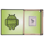 Paisley Character for the Android™ Robot Cases For iPad