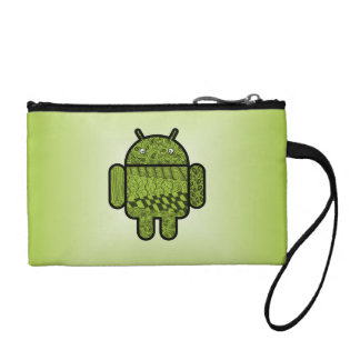 Paisley Character for the Android™ Robot Coin Purse