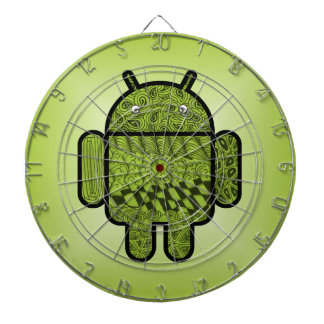 Paisley Character for the Android™ Robot Dartboard