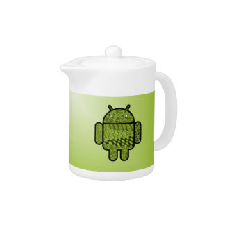 Paisley Character for the Android™ Robot Teapot
