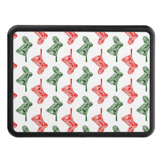 Paisley Christmas Stockings Hitch Cover