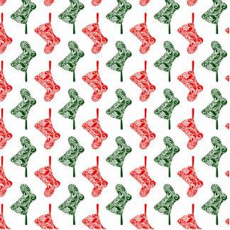 Paisley Christmas Stockings Statuette