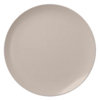 Paisley Collection Plates-Mauve n Brown-LightMauve