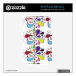 Paisley Colorful iPod Touch 4G Skins