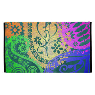 Paisley Colors iPad Case