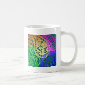 Paisley Colors Coffee Mug