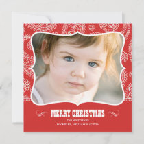Paisley Cowboy Christmas Cards