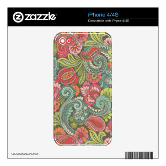 Paisley Cyngalese iPhone 4S Decal