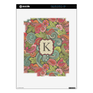Paisley Cyngalese Skins For iPad 2