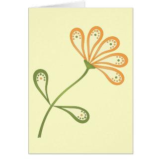 Paisley Daisy Card