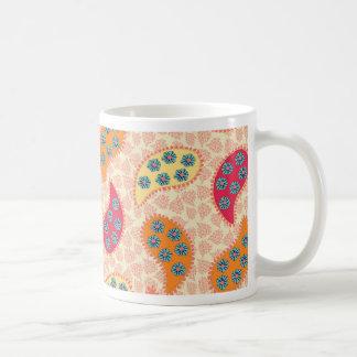 Paisley de baile bonita taza de café