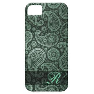 Paisley Deluxe Monogram | mint green iPhone 5 Case