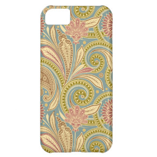 Paisley design cover for iPhone 5C