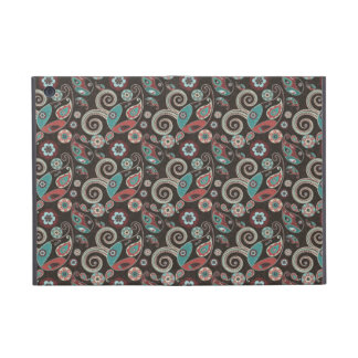 Paisley design monogrammed Powis iCase Cover For iPad Mini