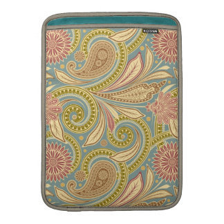 Paisley design sleeve for MacBook air