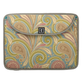 Paisley design sleeve for MacBook pro