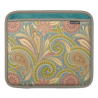 Paisley design sleeves for iPads