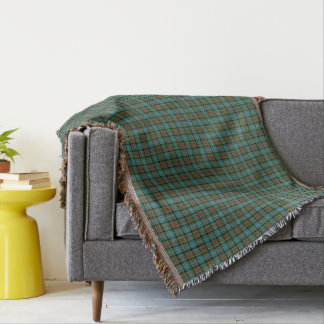 Paisley District Tartan Throw Blanket