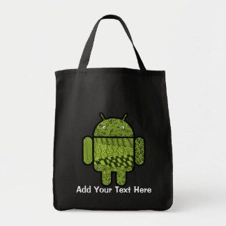 Paisley Doodle Character for Android™ Tote Bag