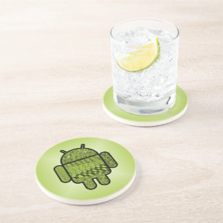 Paisley Doodle Character for Android™ Beverage Coasters