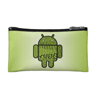 Paisley Doodle Character for Android™ Cosmetic Bag