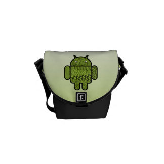 Paisley Doodle Character for Android™ Courier Bag