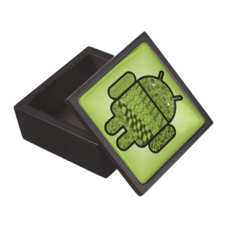 Paisley Doodle Character for Android™ Keepsake Box