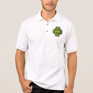 Paisley Doodle Character for Android™ Polo Shirt