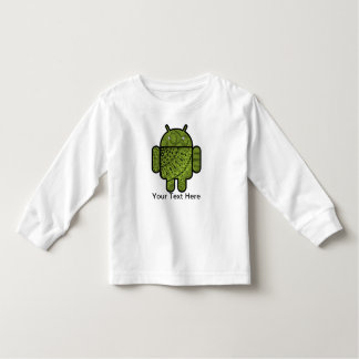 Paisley Doodle Character for the Android™ robot Toddler T-shirt